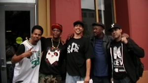 Sellassie, M1, RHHR, Davey-D, & Jasiri X